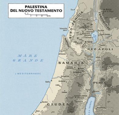 Cartina Geografica Della Palestina Di Oggi.Scheda Edb Scuola